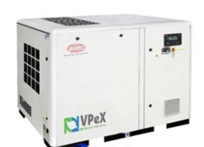 VPeX15-55KW VSD VPeX(加强型)变频螺杆空压机 (2.5m³-6m³)