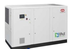 VPeX90-160KW VSD VPeX(加强型)变频螺杆空压机(13m³-32m³)